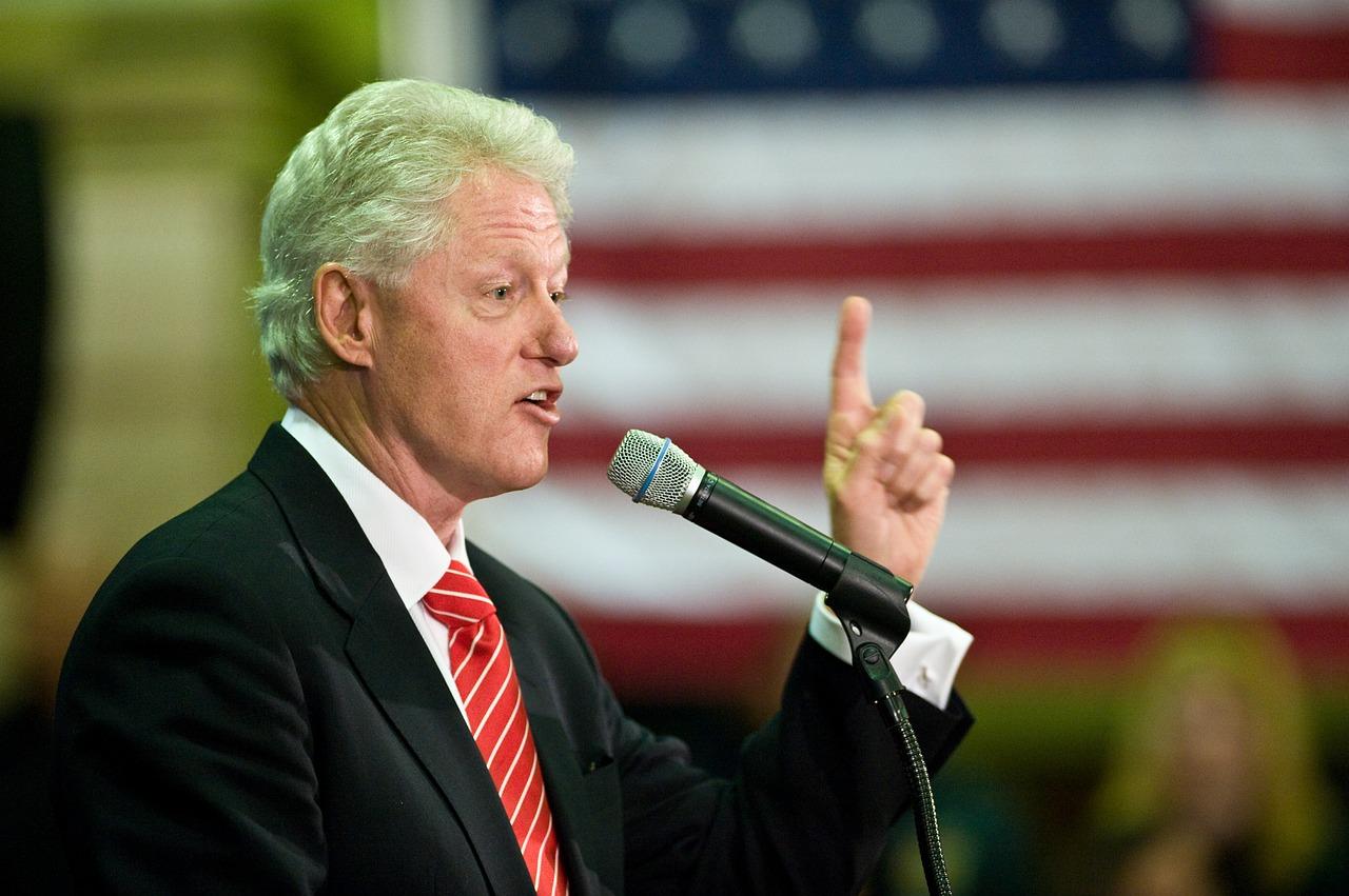 Prezydent Bill Clinton