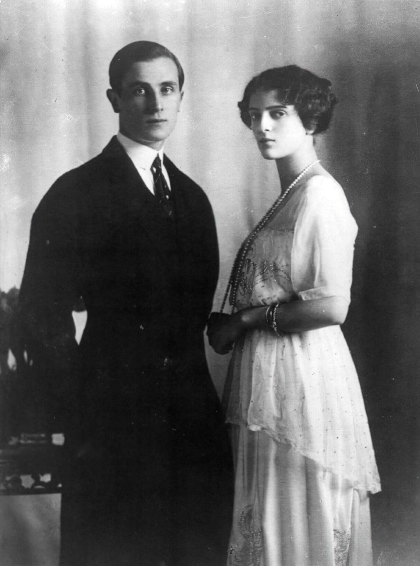 Jusupow z żoną