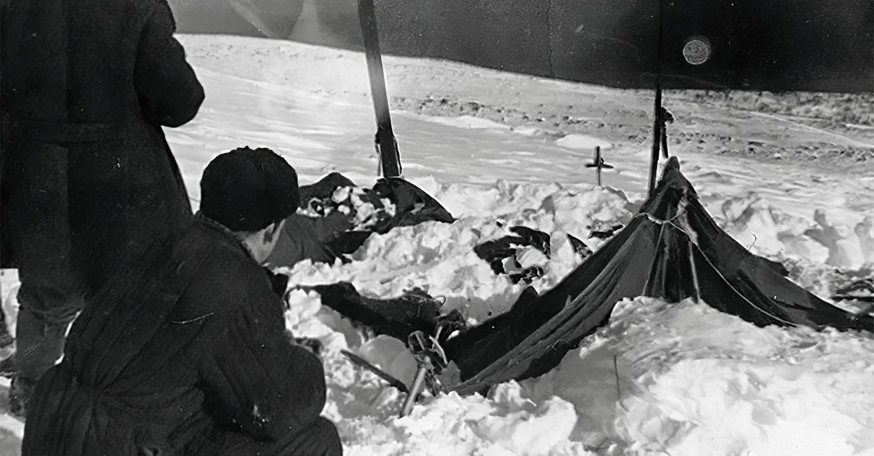 Przełęcz Diatłowa - namiot