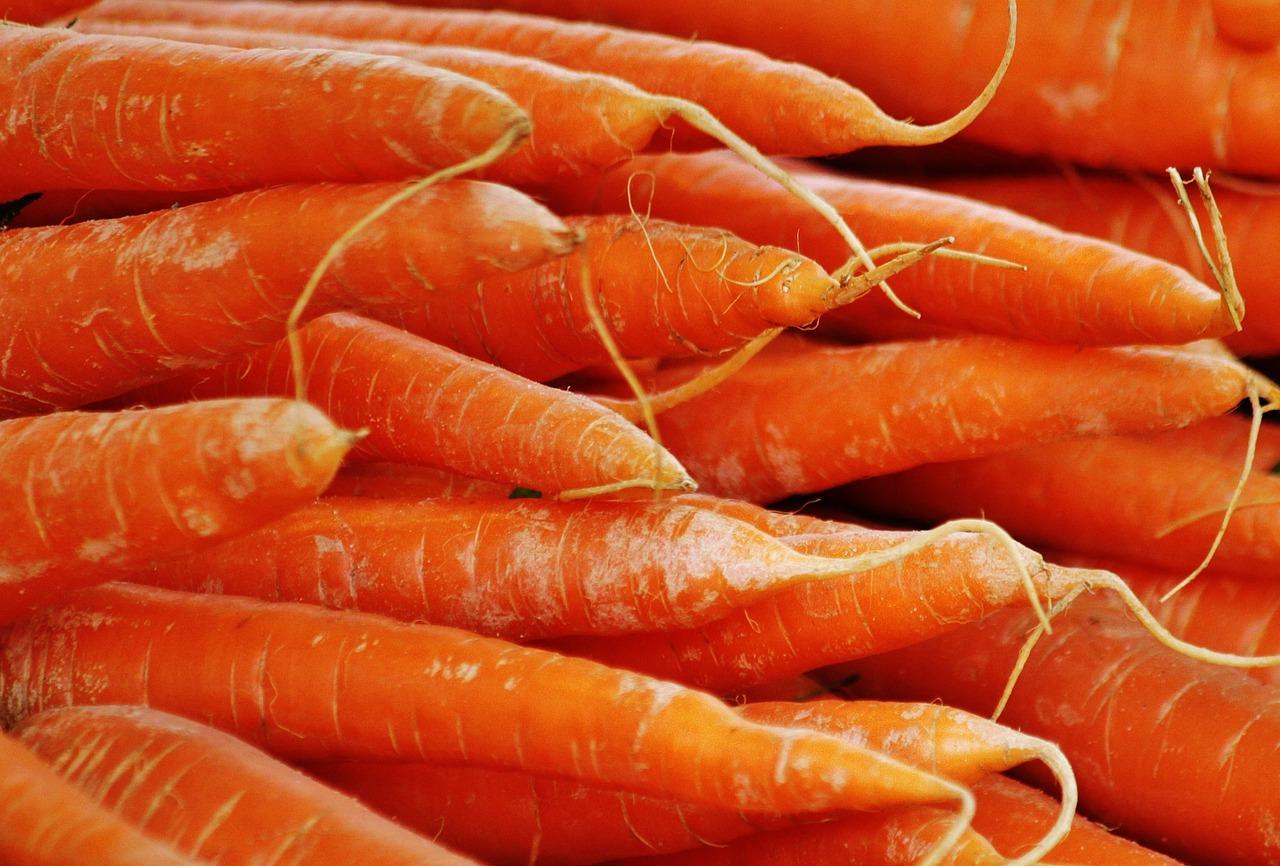 Czy jedzenie marchwi może poprawić wzrok?