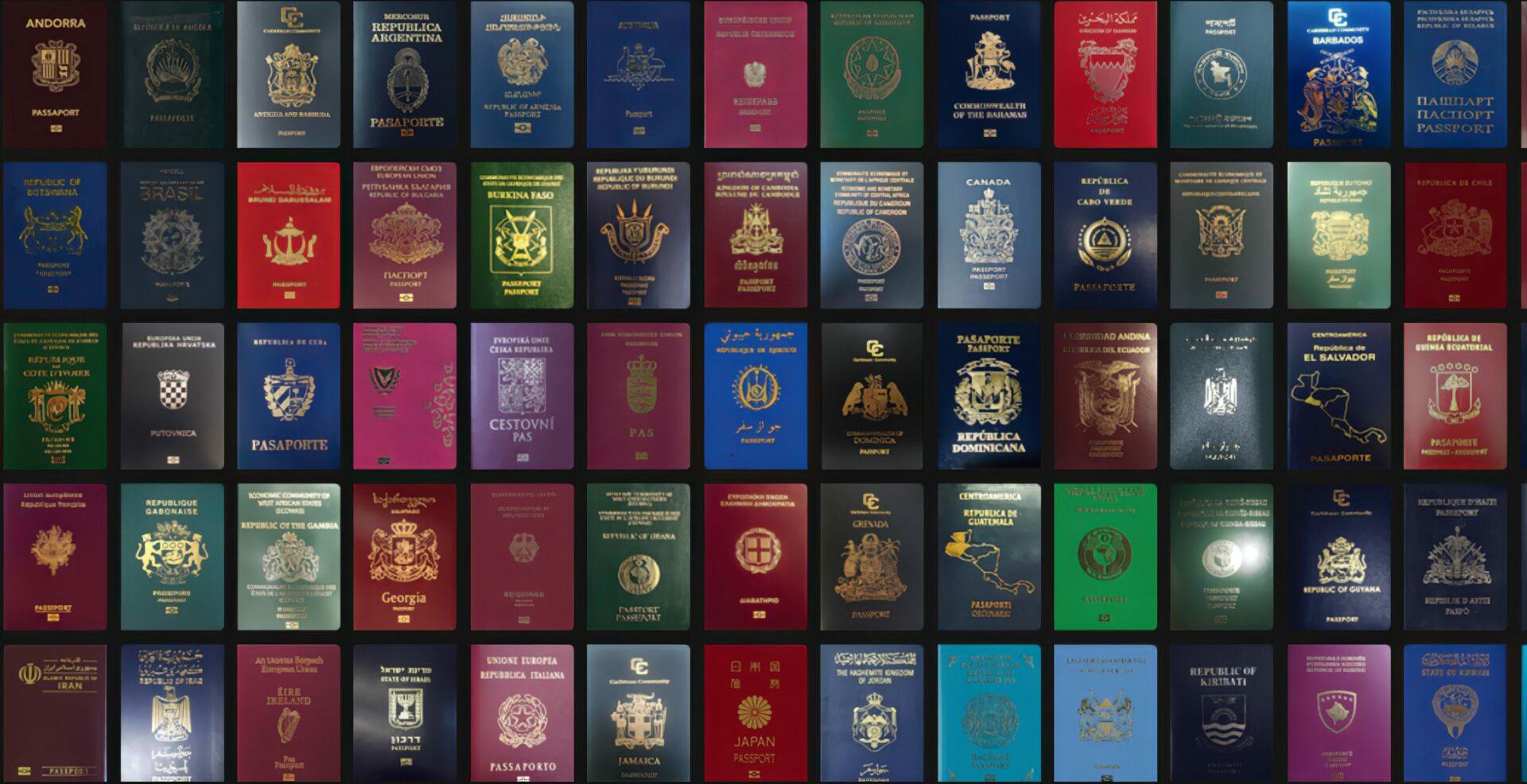 Dlaczego na świecie używa się tylko czterech kolorów paszportów?