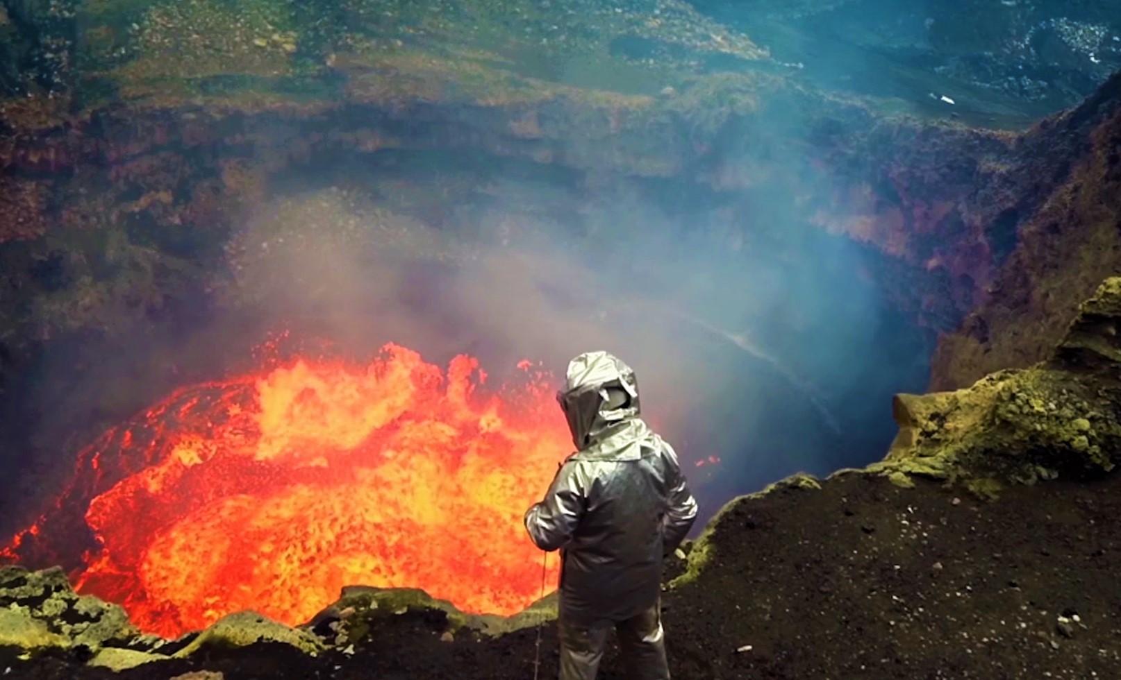 Co się z nami stanie jeśli wpadniemy do wulkanu?