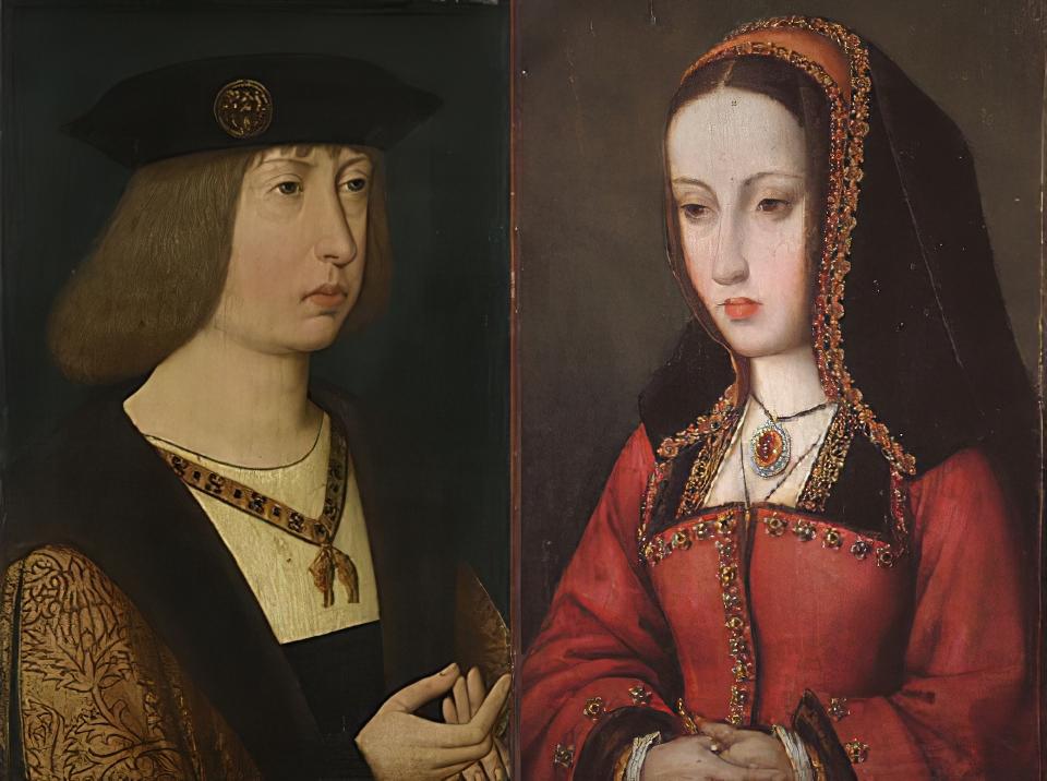 Filip piękny i Joanna Szalona
