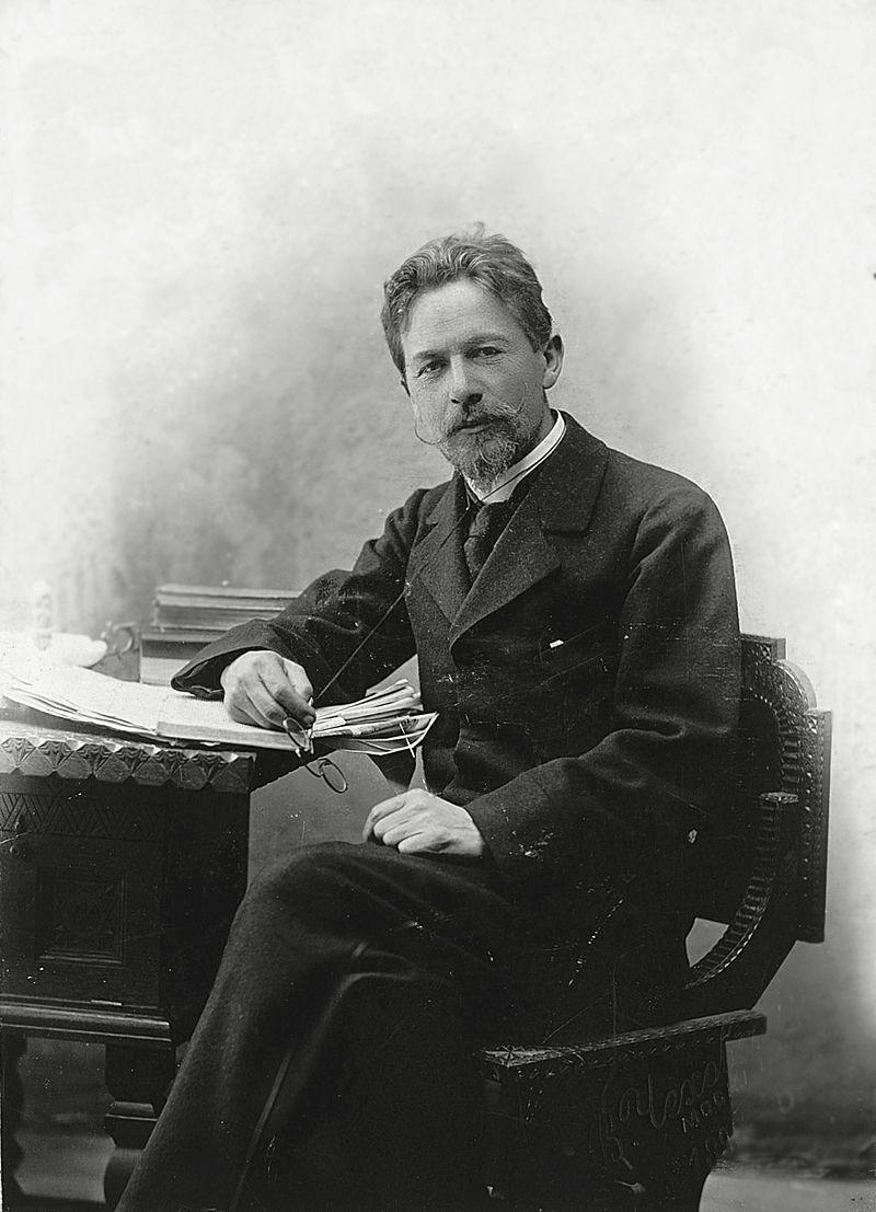 Anton Czechow w 1889