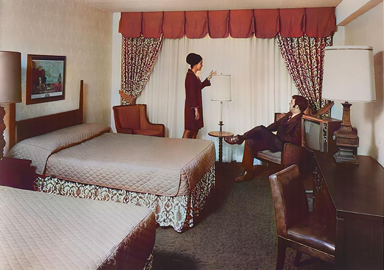 Hotel Hilton w latach 70